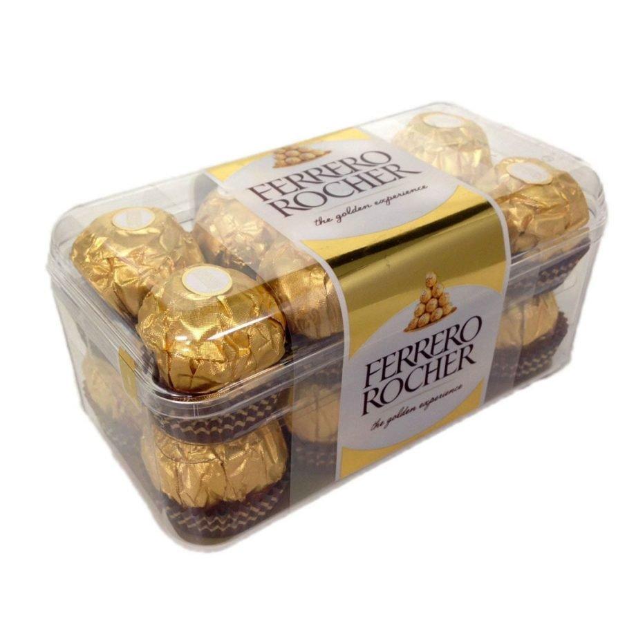 Bombones Ferrero Rocher 16 uds