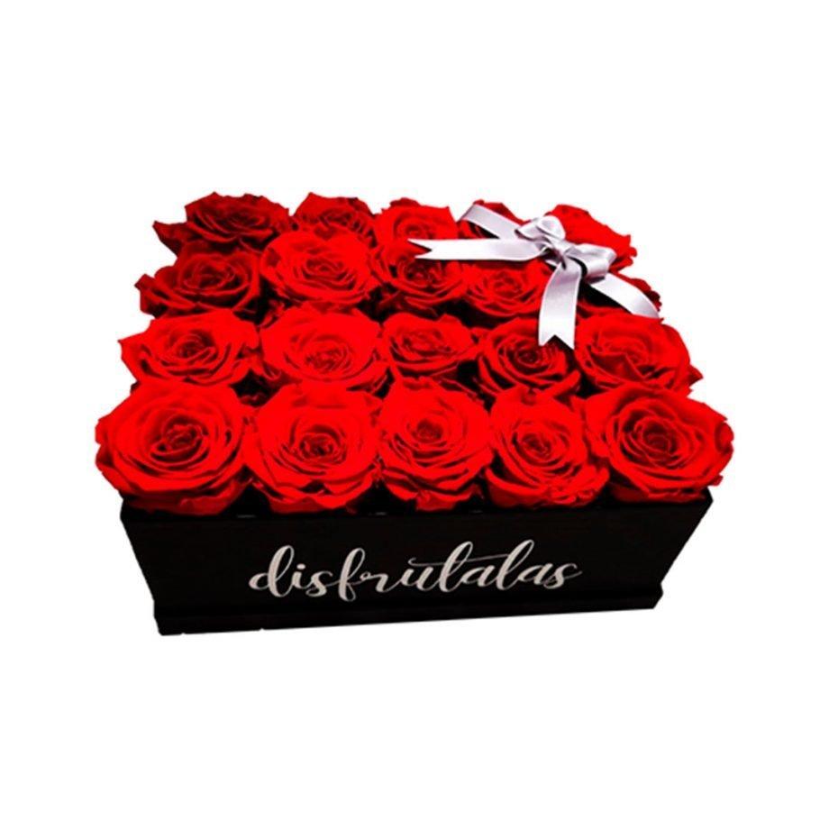Caja Personalizada con Rosas Eternas