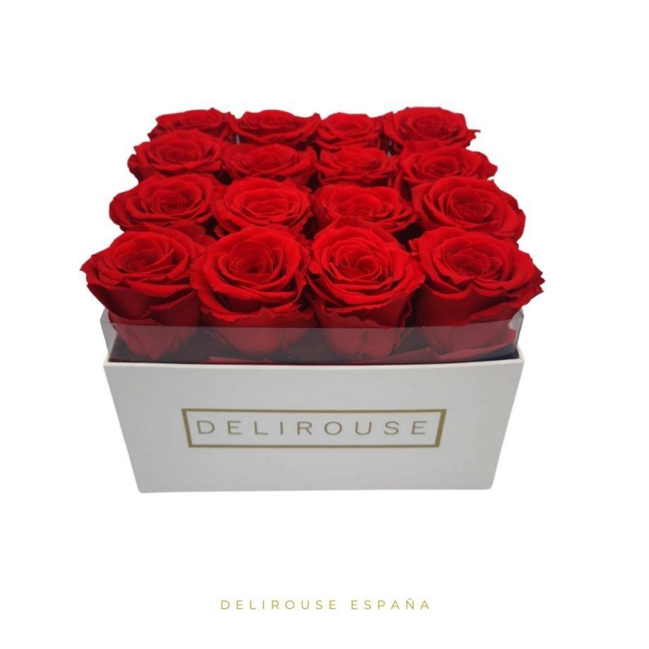 Caja Pandora Grande de Rosas Eternas