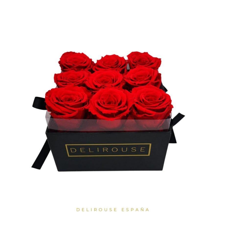 Caja Pandora Pequena con Rosas Eternas 3