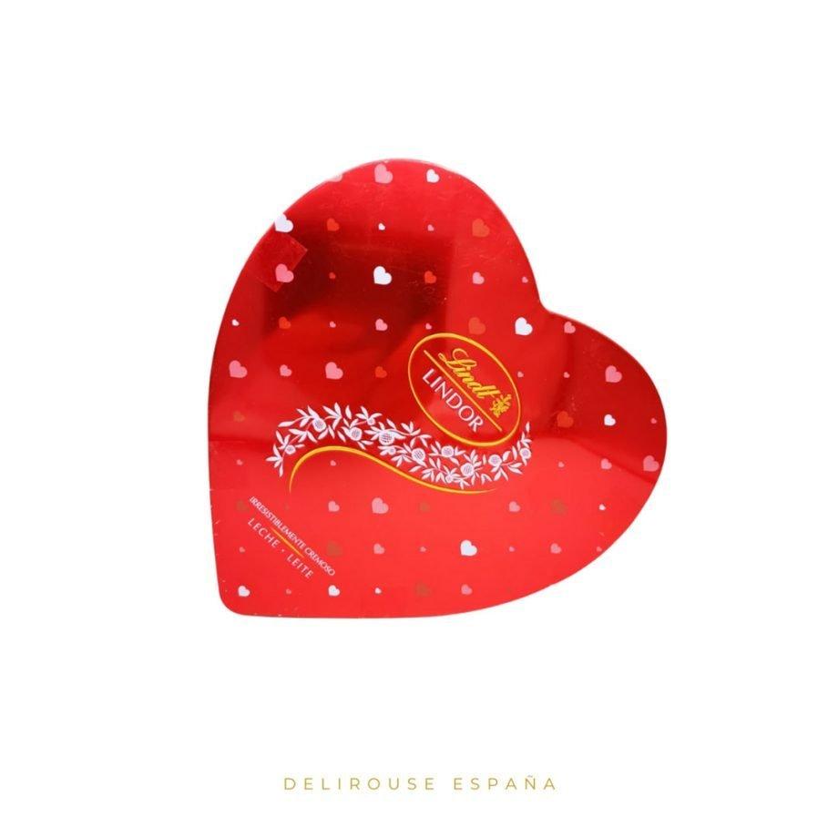 Caja corazón de bombones Lindor