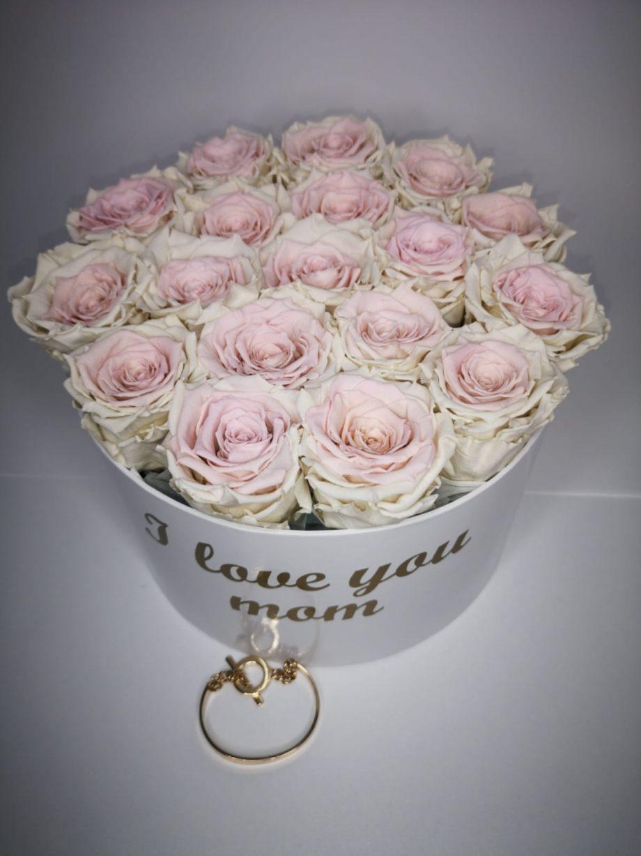 Caja Grande de Rosas Eternas Pulsera 5