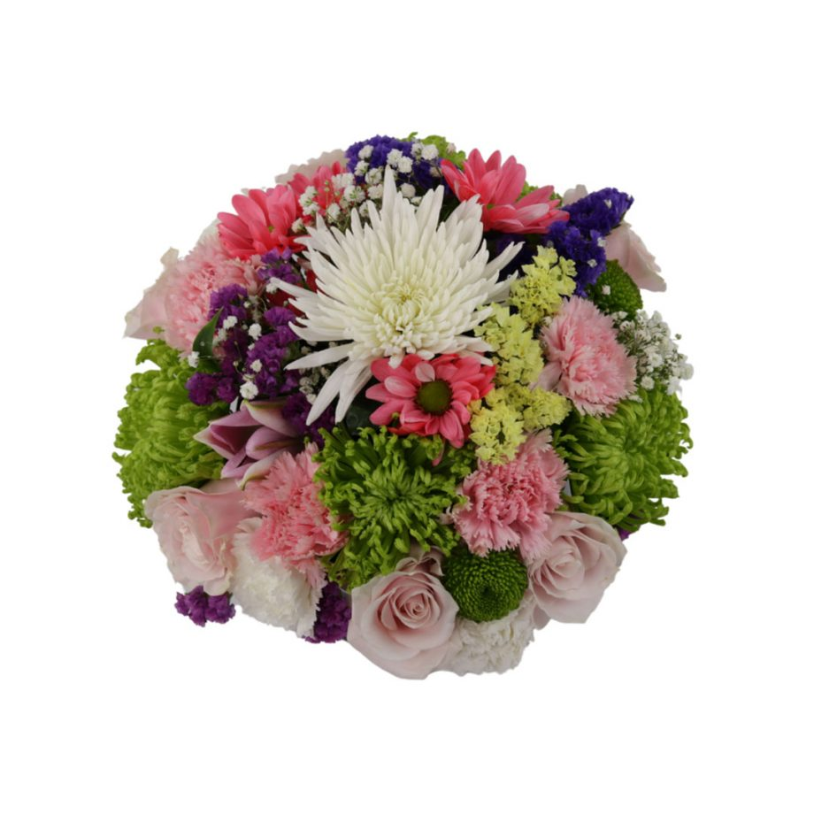 Caja Cilindrica Mediana de Flores Silvestre 1