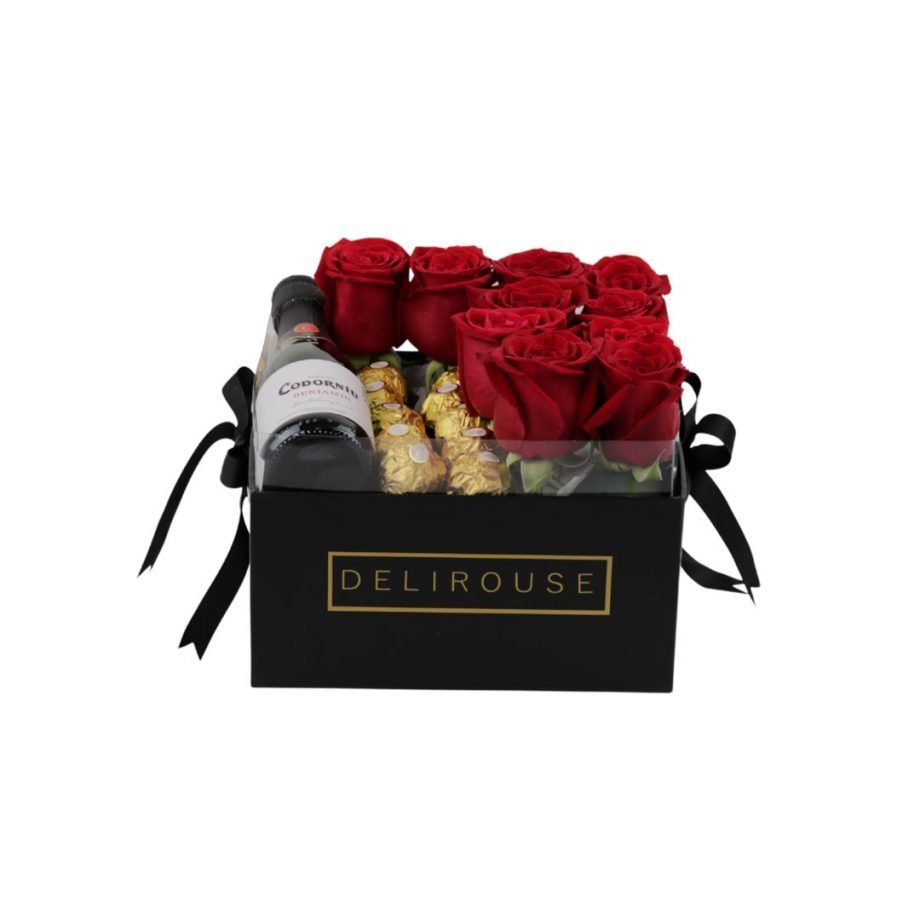 Caja Pandora con Rosas y Complementos 2