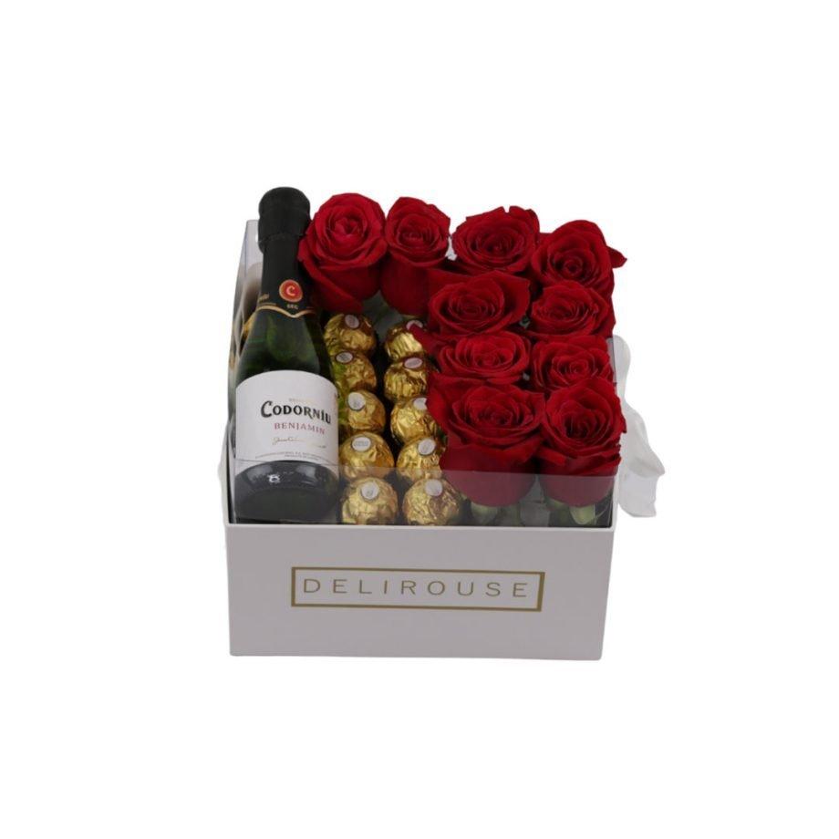 Caja Pandora con Rosas y Complementos 3