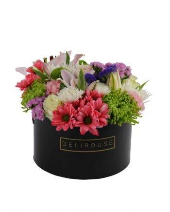 Caja Grande con Flores Silvestres