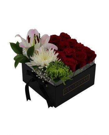 Caja Pandora de Rosas y Flores Silvestres